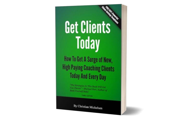 Coaching E-Book Get Clients Today